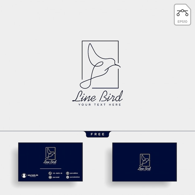 Dove flying bird cosmetic logo template vector icon
