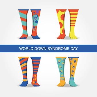 ダウン症候群の日のデザイン