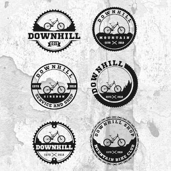 Downhill badge