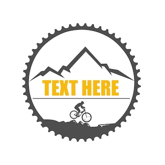 Downhill logo illustration