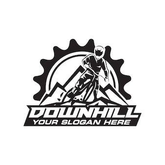 Downhill logo