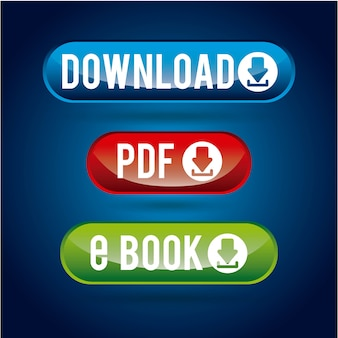 Download design over blue  background vector illustration