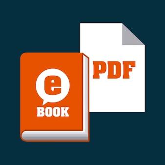Download e-book design, vector illustration eps10 graphic