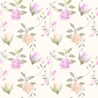 ファッションのための花のシームレスなパターンデザインをダウンロード