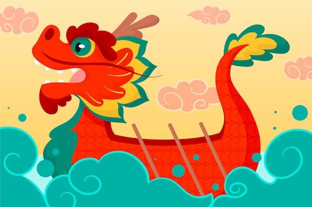 Dragon boat wallpaper