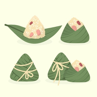 Dragon boats zongzi collection