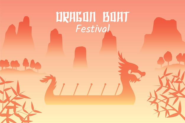Dragon boats zongzi event