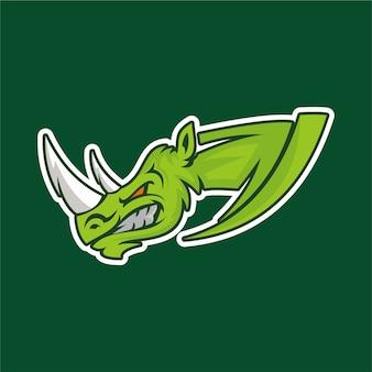 Значок логотипа dragon dragon для команды спортивных игр esport