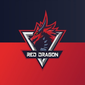 Спортивный логотип dragon e