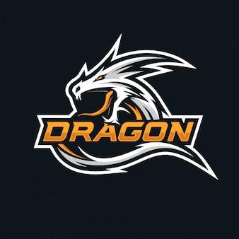 ドラゴンのeスポーツのロゴ