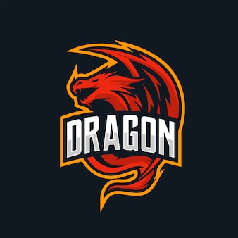 Логотип dragon esport