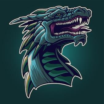 The dragon head