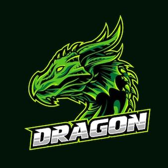Дракон логотип эспорт