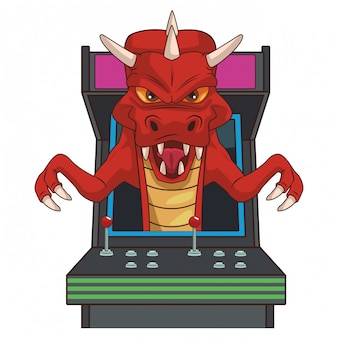 Dragon videogame cartoon