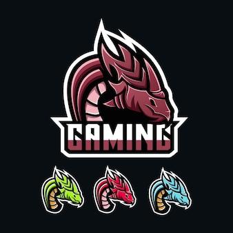 Игровой логотип dragon