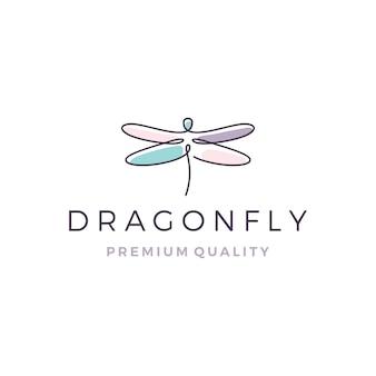Логотип dragonfly