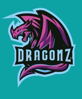 Dragonz e sportsロゴ