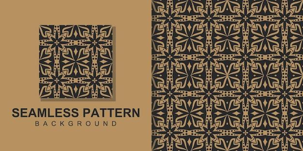 사각형 원활한 패턴 배경 그리기