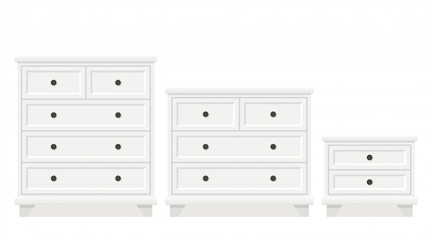 Drawer chest and dresser  ,