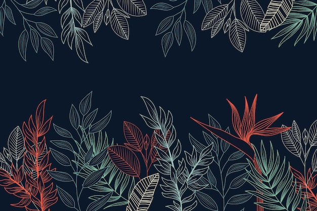 Рисование цветов на доске фоне концепции