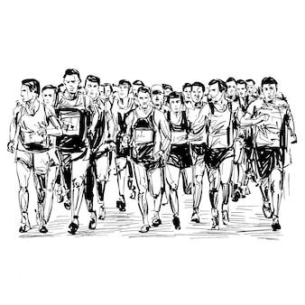 Жеребьевка соревнований по бегу
