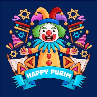 Drawing of purim day event