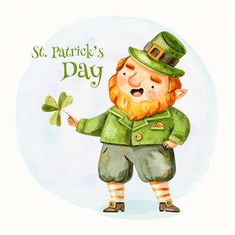 Drawing of st. patricks day theme