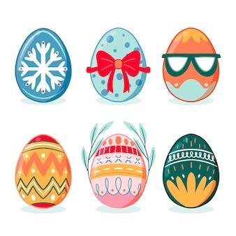 Disegnando con la raccolta dell'uovo di giorno di pasqua