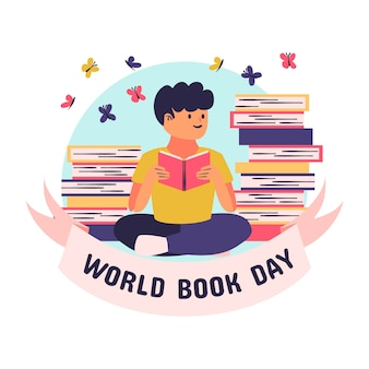 Drawing with world book day theme