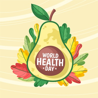 Drawing of world health day