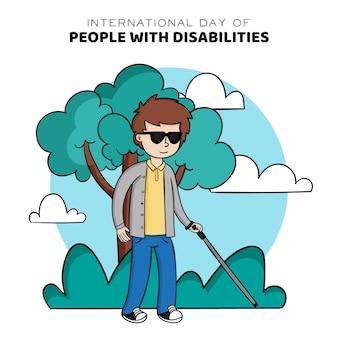 Проведено мероприятие по случаю международного дня людей с инвалидностью