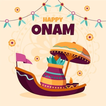 Drawn onam event