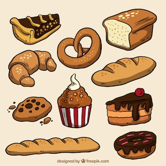 Drawn products bakery pack