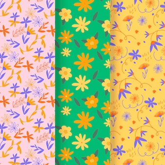 Drawn spring pattern collection