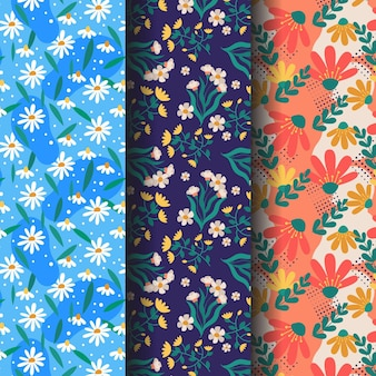 Drawn spring pattern pack
