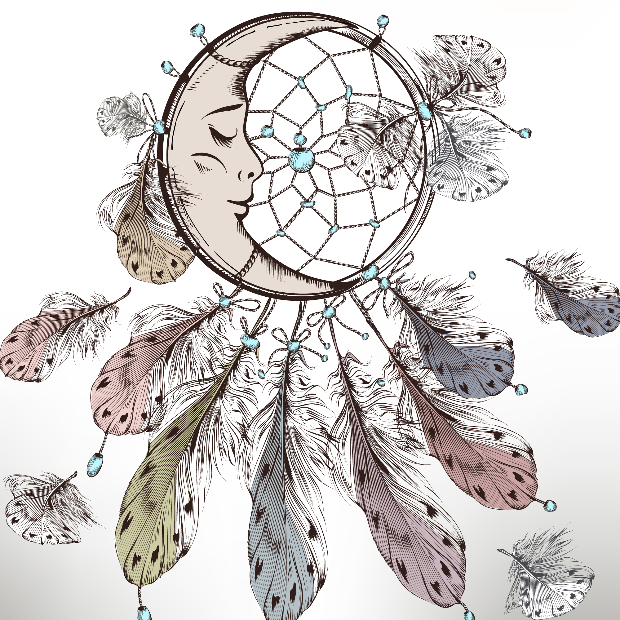 Dream catcher background