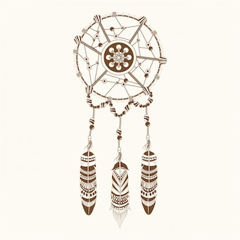 Dream catcher ornament boho