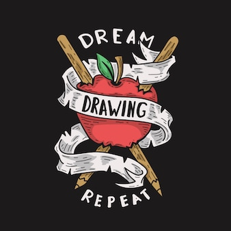 Dream drawing repeat