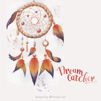 Dreamcatcher painted