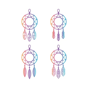 Dreamcatcher vectors