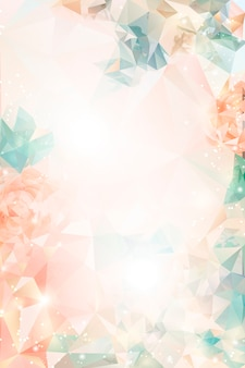 Dreamy floral background