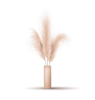 Сушеные элементы растительного орнамента в стиле бохо.