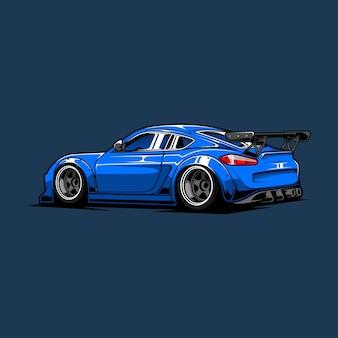 Спортивный автомобиль drift