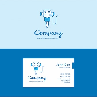 Drill logo and visiting card