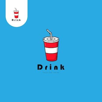 음료 로고