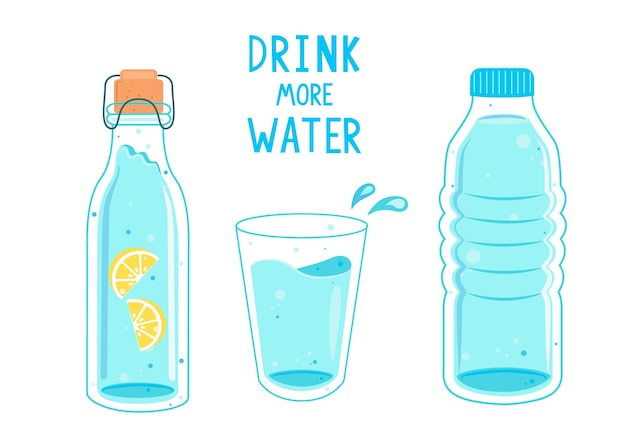 Drink more water, calling banner