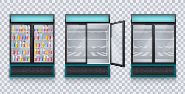Набор холодильников для напитков