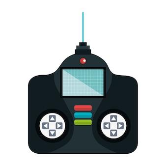 Drone control remote icon vector illustration design