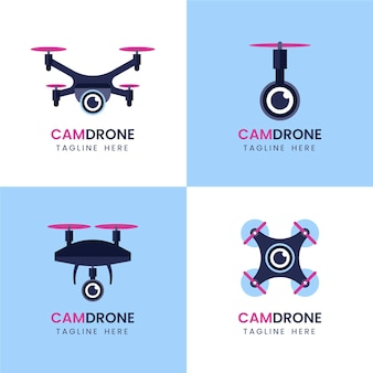 Drone logo collection
