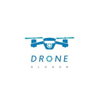 Дизайн логотипа drone вдохновение